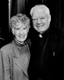 Father Mac and Sr. Patricia Kilbane